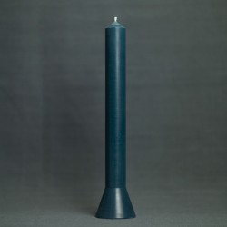 Lys 36cm, farve petrol