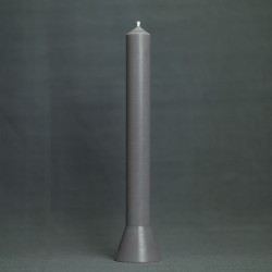 Lys 36cm, farve grey
